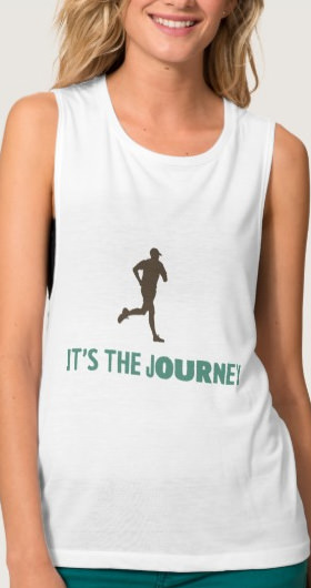 It's The Journey Women's Shirt