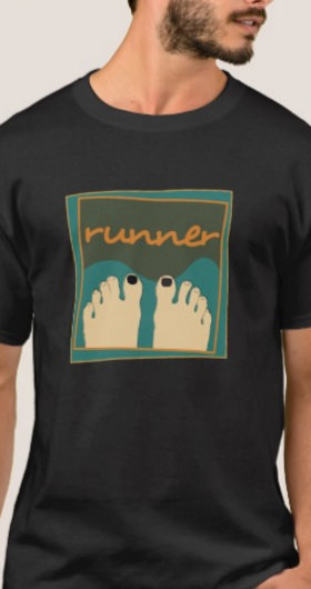 Runner Toe's Men's Shirt