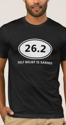 Self Belief Marathon Men's Shirt