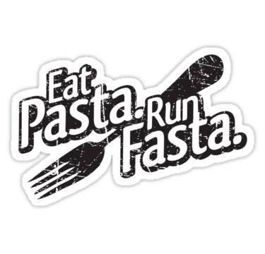 Runner Things #2000: Eat pasta, run fasta.