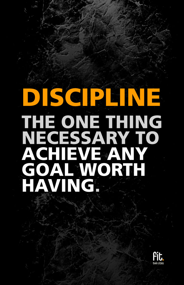 runner things 744 discipline the one thing necessary to