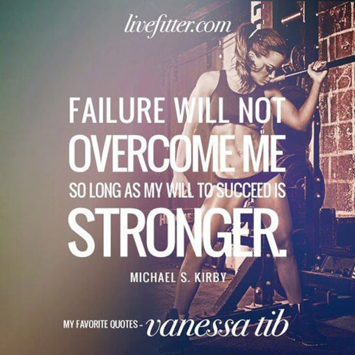 Overcoming Failure Quotes: Running Posts